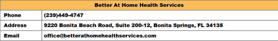 Home Health Care in Naples